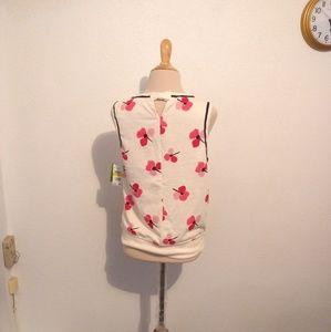 kate spade Tops - Kate Spade NY Floral Print Knit Tank Top